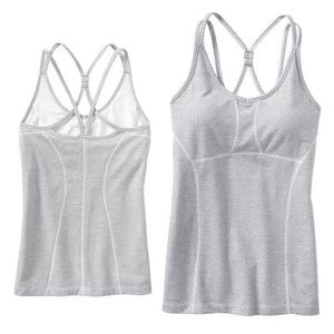 Athleta Herringbone Empowerment Strappy Tank Top